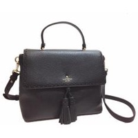 Kate Spade James Street Sparrow Crossbody Black Tassel
