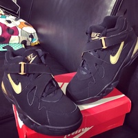 Nike Air Force Max CB Gold/black US9 with box