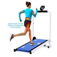 Mini Manual foldable treadmill