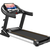 Foldable Treadmill With Automated Incline Pepu TM660 Motorized Treadmill - Multi Function