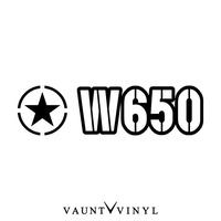 軍事W650粘紙W650 w800 W圍巾電池方向盤kawasaki川崎/sutekkabaikushirudekaru/安全帽後部箱改造/星明星美國的us army僞裝色僞裝戶外/10P07Jan17 VAUNT VINYL sticker store