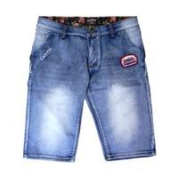 花布水洗刷色貼布牛仔短褲CLOT Remix Dickies街頭美式男裝36-44吋