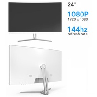 Brand New Prism+ X240 24-Inch FHD 144Hz Curved Gaming Monitor. Local SG Stock and warranty !!