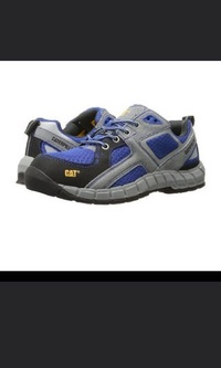 Caterpillar safety shoe steel toe
