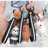 We Bare Bear Webarebear keychain key chain