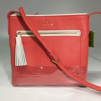 Kate Spade Crossbody Chester Street Dessi Bag Wkru4073 in coral red
