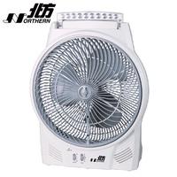 【北方】14吋風罩充電式DC節能箱扇-LED照明燈(BFD14361)
