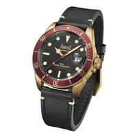 Arbutus ARBR01GRB Analog Automatic Black Leather Men Watch