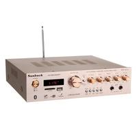 Sunbuck AV-580USB/BT bluetooth4.0 5CH 400W+400W+120W Amplifier Support SD Card USB FM Microphone
