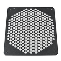 CaseLabs 140mm Fan Hole Cover Plate, Hex-Mesh, metal