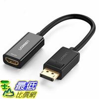 [107玉山最低比價網] 綠聯 DP轉HDMI轉接頭4K高清DP轉換器 高清轉接線 HDMI 轉 Display Port(4K版)