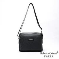 Roberta Colum - 都會職男尊爵牛皮斜背側背包