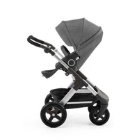 Stokke® Trailz™ 全地型越野嬰兒手推車(銀色車架)買再送超值好禮