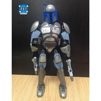 star series wars the Jango Fett model building blocks Classic building Toys for children Lepins