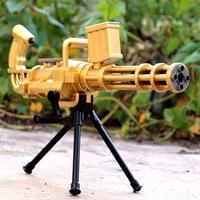 Soft Crystal Water Gun ,Kids Nerf Gun Toy ,Gun + 500pcs Water Ball Bullet (Color: Black) (Color: Bla