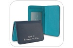 agnès b. leather card holder brand new with tag orig box and bag agnes b. cardholder