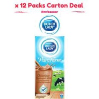 Dutch Lady UHT Chocolate Milk x 12 Packs 1 Litre Carton Deal