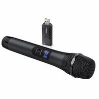 FIFINE TECHNOLOGY Wireless Microphone,FIFINE USB Microphone,UHF Handheld Dynamic Microphone with USB