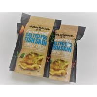 新加坡現貨 金鴨 鹹蛋黃炸魚皮 鹹蛋黃薯片 鹹蛋黃洋芋片 GOLDEN DUCK