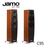 【已售完】JAMO C95 落地式喇叭(深色蘋果)