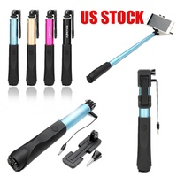 Mini Extendable Wired Selfie Stick Monopod For Outdoors Gift