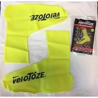 北投騎樂●公司貨●Velotoze 鞋套/防水/防風/橡膠/黃色