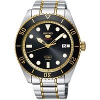 SEIKO 精工SRPB94J1 5號半金水鬼機械腕錶(4R35-02D0K)x44m
