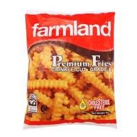 [Bundle of 3 Packets]Farmland Crinkle Cut Fries 3x1kg