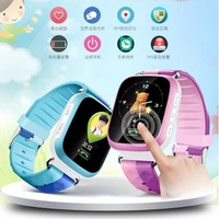 Y19S Anti Lost Child GPS Tracker SOS Function Smart Monitoring Positioning Phone Kids GPS touch Wat