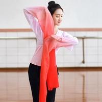 兒童驚鴻舞甩袖成人藏族舞蹈服古典舞演出服練功水袖舞服裝上衣女
