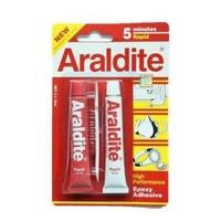 Araldite Rapid Crystal 5 minutes 2 x 15ml- A-FAST