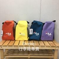 【Denny shop】FILA單肩包 後背包 後背包 斜背包 背包 包包 側背包 單車包