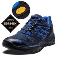【美國 The North Face】男新款 Gore-Tex防水透氣耐磨輕量登山鞋/Vibram黃金大底/越野鞋.健行鞋 / CXT3 藍