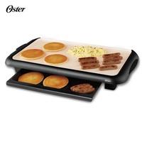 美國 Oster 陶瓷電烤盤 CKSTGRFM18W 可拆卸的溫度控制盤