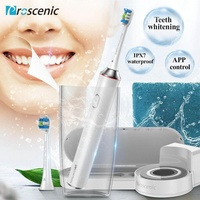 Proscenic Electric Toothbrush Rechargeable Smart Bluetooth Connectivity Waterproof Wireless Sonic Toothbrush Sanitizer