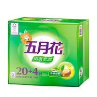 【五月花】清膚柔潤抽取衛生紙(100抽x72包/箱) 1箱/組