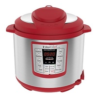 Instant Pot Lux 6 Qt Red 6-in-1 Muti-Use Programmable Pressure Cooker, Slow Cooker, Rice Cooker, Sau