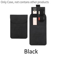 DY Portable Ultra Thin Mini Slim Leather Wallet Pocket for JUUL Carrying Pouch Pods Storage Bag