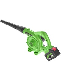 Turbine 21 Amp Variable Speed Cordless Blower 170 MPH 600 CFM Output Variable Speed Control