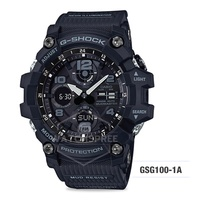 *APPLY SHOP COUPON* Casio G-Shock Mudmaster Master of G Men Watch GSG100-1A.