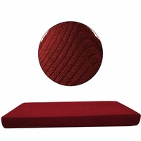 Replacement Sofa Seat Cushion Cover Couch Slip Covers Chair Protector Fabric Stretchy Three-Seater
