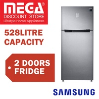 SAMSUNG RT53K6257SL/BS 528L 2 DOORS REFRIGERATOR / FRIDGE / FREE GIFT BY AGENT / LOCAL WARRANTY