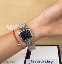 พร้อมส่ง GUCCI YA125416 G-Gucci' Bracelet black dial Watch
