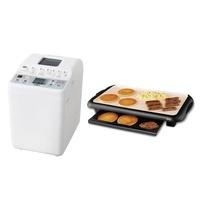 多功能製麵包機 PY-E632TW+Oster-BBQ陶瓷電烤盤