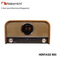 Nakamichi Heritage 800 Bluetooth Micro Speaker System With FM + CD Player