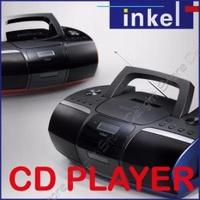 Inkel Korea IP-765 FM CD Radio Player Portable Cd Cassette Players Boombox - intl