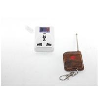 の305~長距離射頻插座(1對1)無線遙控插座無線開關插座智慧學習型遙控插座無線開關電風扇