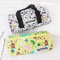【日貨OUTDOOR筆袋P2】Norns 鉛筆盒 復古學院筆袋 圓筒袋 玩具總動員 Snoopy 日本正版 好窩生活節