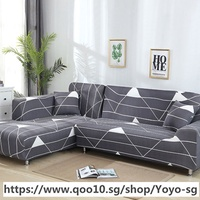 L shaped Sofa Cover Stretch Sectional Couch Cover Sofa Set Sofa Covers For living Room housse canape