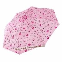 正版原裝 凱蒂貓 Hello Kitty 兒童雨傘 三折傘-淡粉杯子款